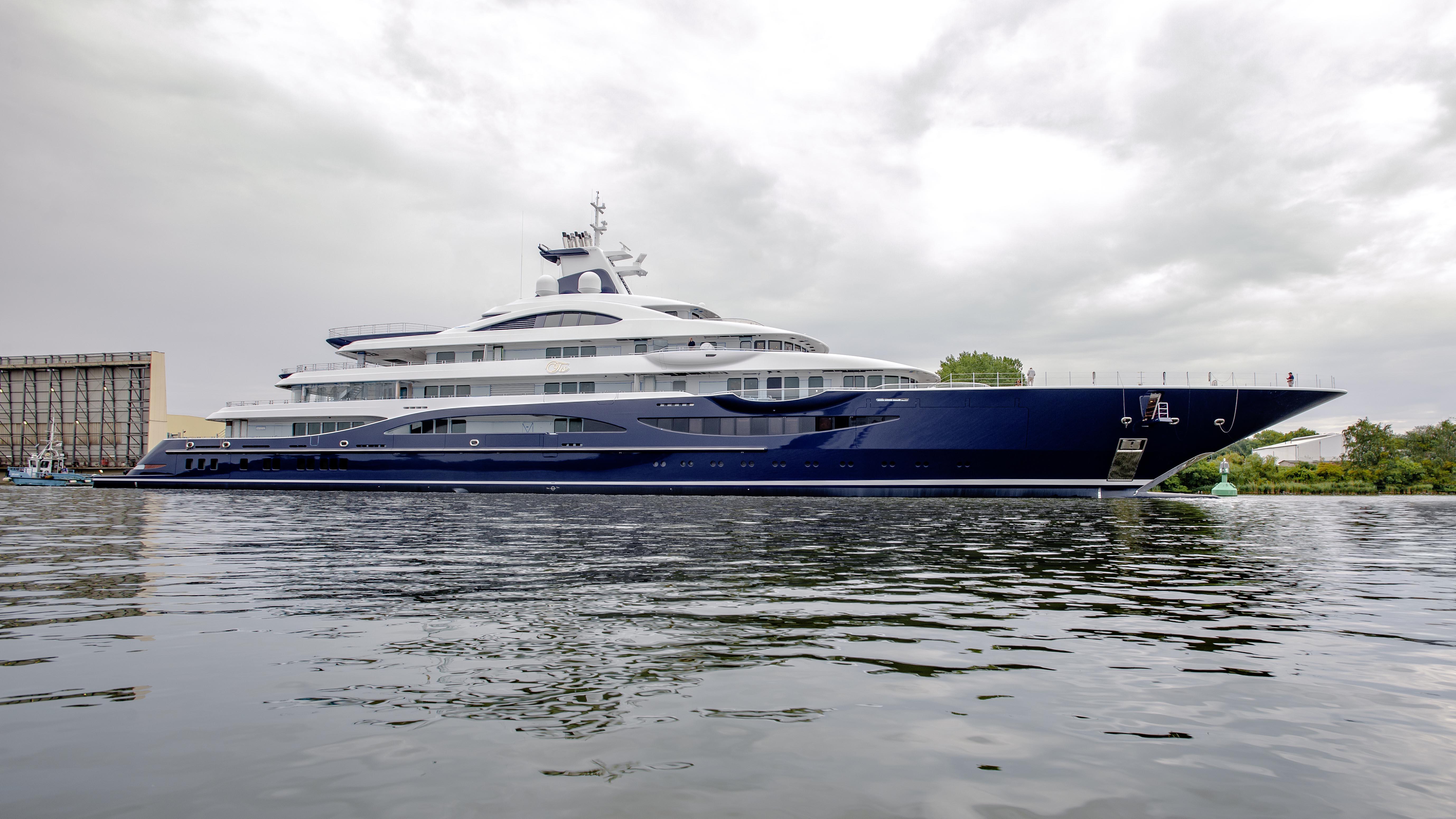 Lürssen Yachts Tis superyacht gigayacht Winch Design