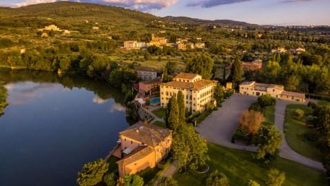 Casa Colonica at Villa La Massa Hotel in Tuscany