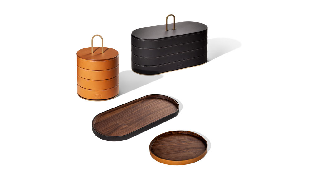 leather containers