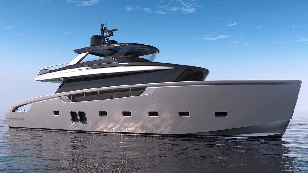 Sanlorenzo SX76 Crossover Yacht
