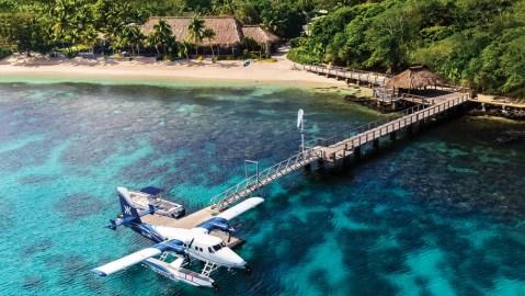seaplane resort Fiji