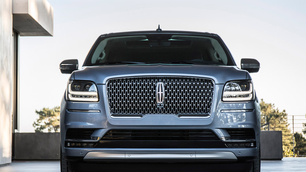 The 2018 Lincoln Navigator.