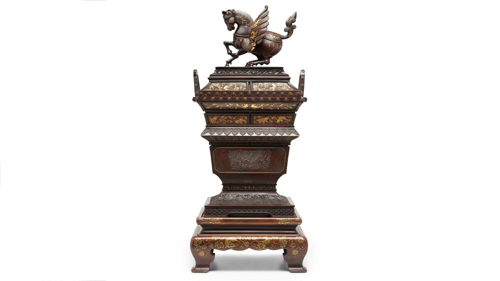 Meiji period incense burner