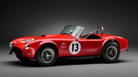 This A 1964 Shelby Cobra 289ci Competition Roadster raked in $1.7 million at the Bonhams Goodwood Revival auction in 2018.