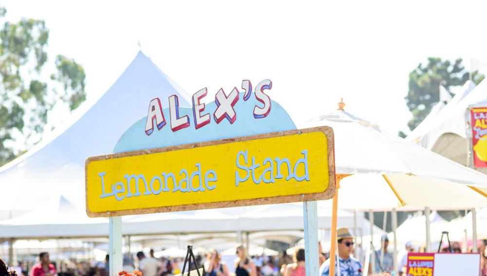 L.A. Loves Alex's Lemonade