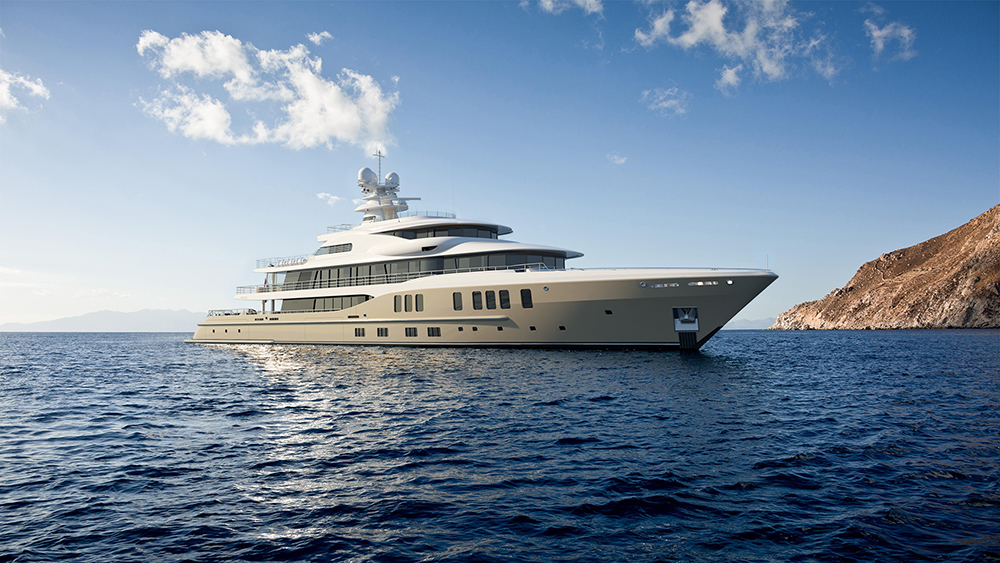 Amels Limited Editions 242 Monaco Yacht Show