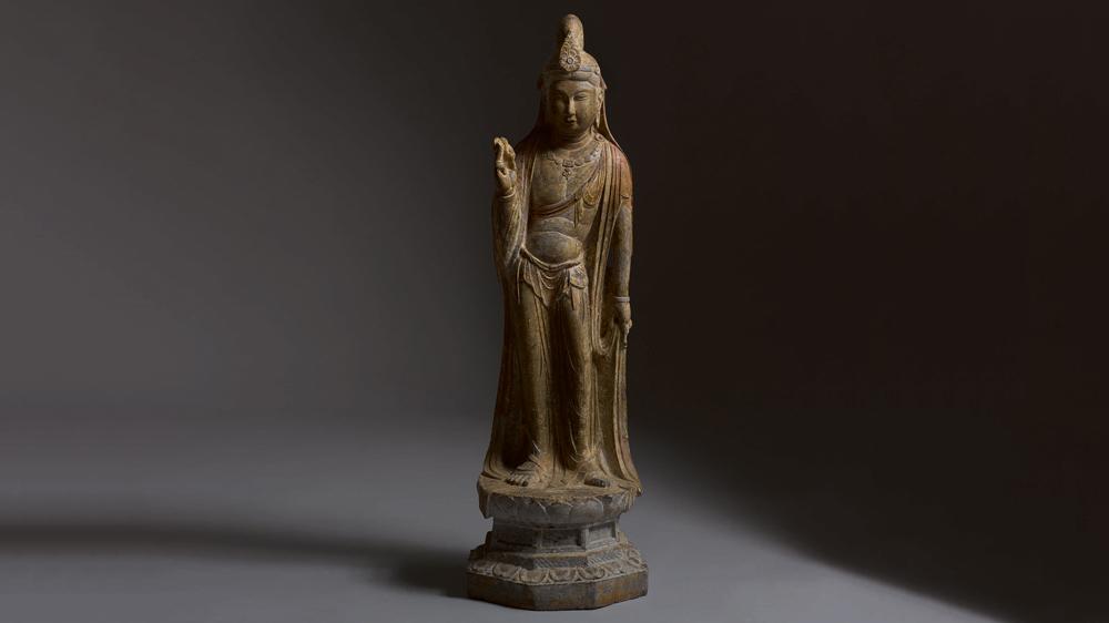Figure of a Bodisattva