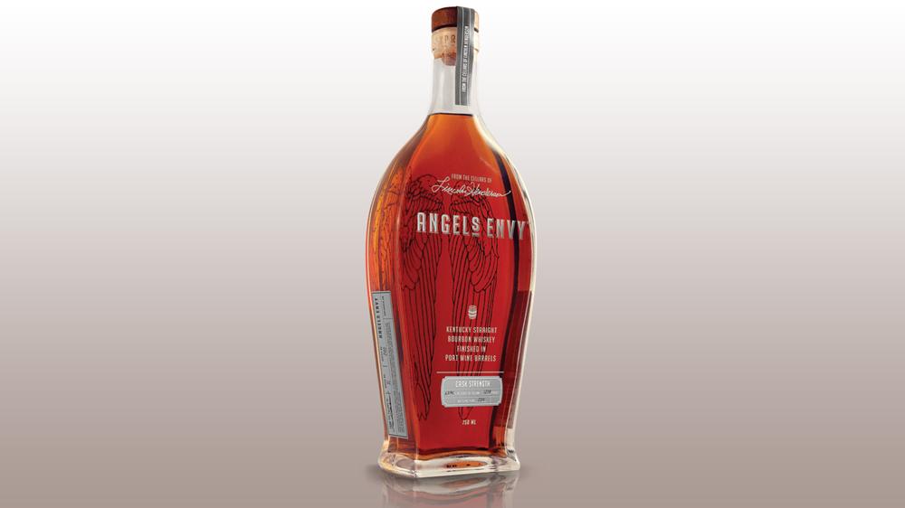 Angel's Envy Bourbon cask strength