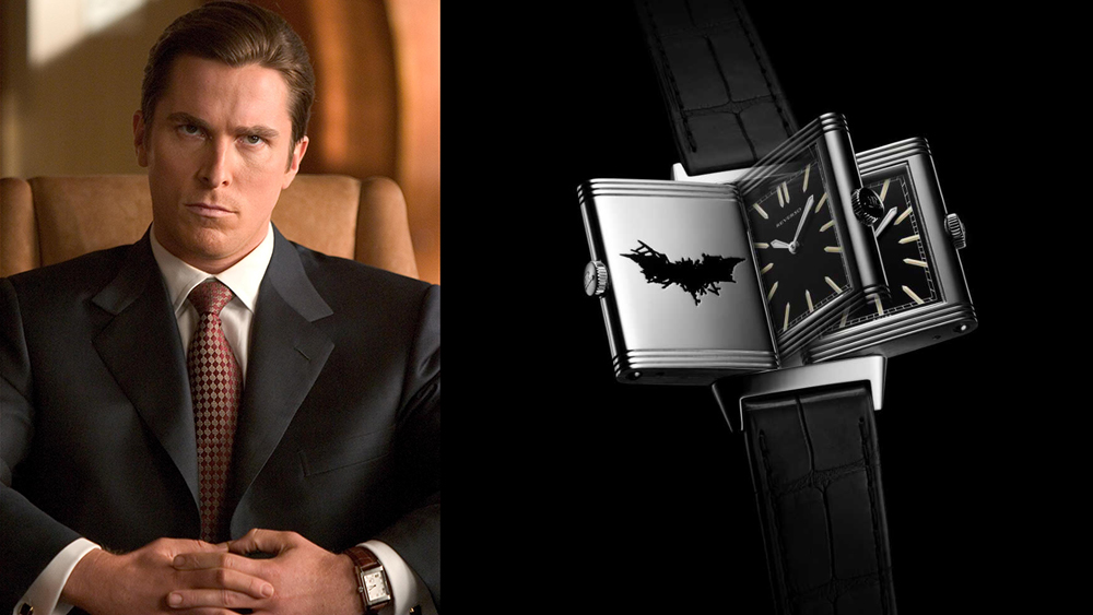 Christian Bale Batman Jaeger-LeCoultre
