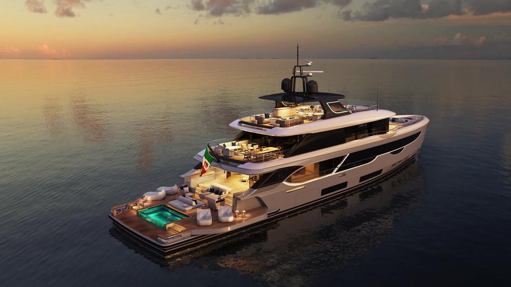 Benetti Oasis 135 superyacht