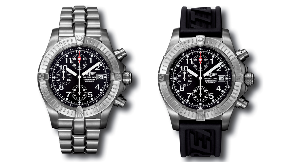 Breitling Chrono Avenger worn Blood Diamond