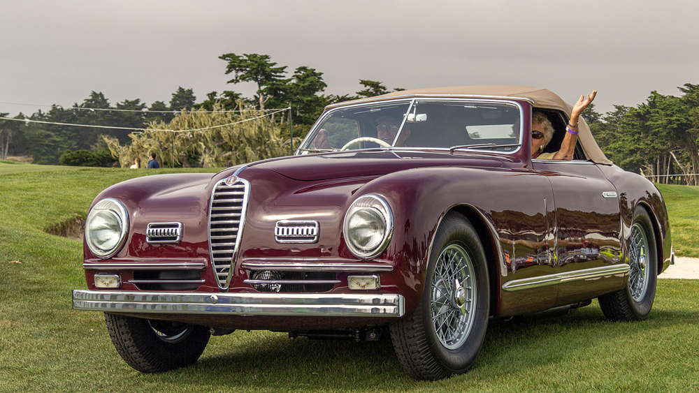 Concorso Italiano Monterey Car Week
