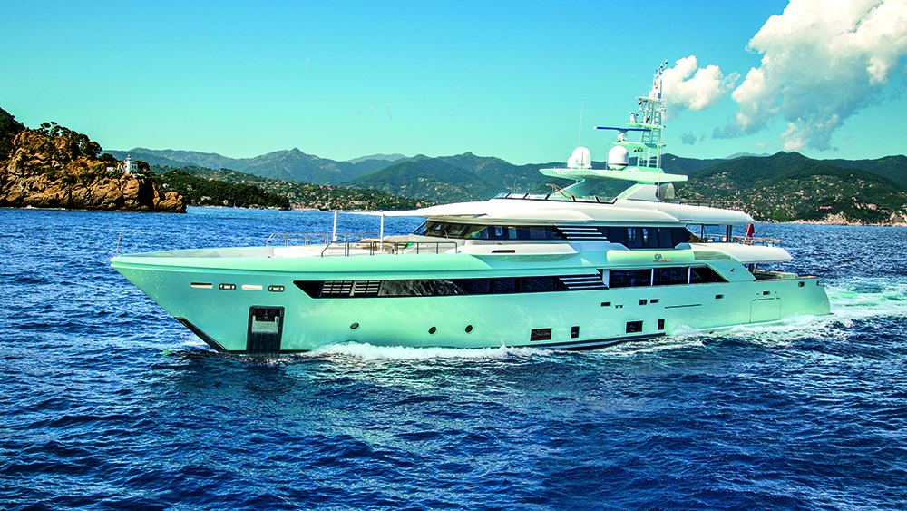 CRN Latona superyacht Monaco Yacht Show