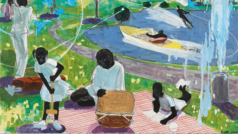 Study for Past Times Kerry James Marshall