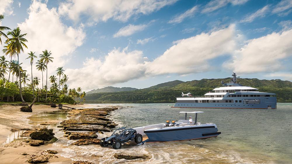 Damen SeaXplorer 75 explorer yacht