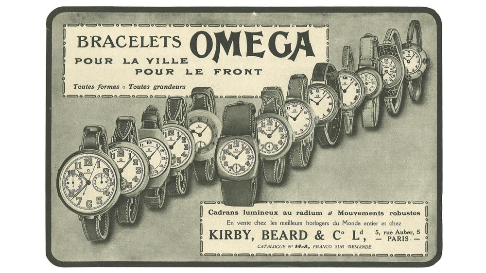 Vintage Omega ad