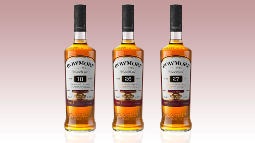 Bowmore Vintners Trilogy