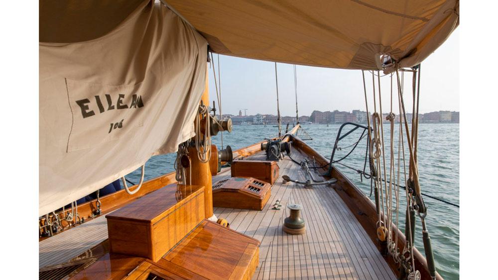 Eilean restored yacht
