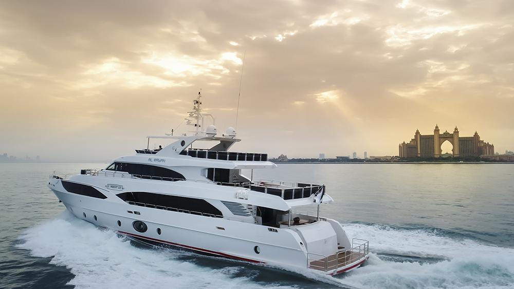 Gulfcraft Majesty 125 Monaco Yacht Show