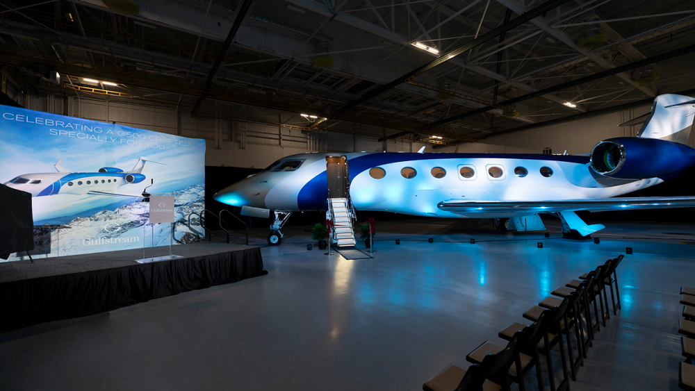 Gulfstream first G500