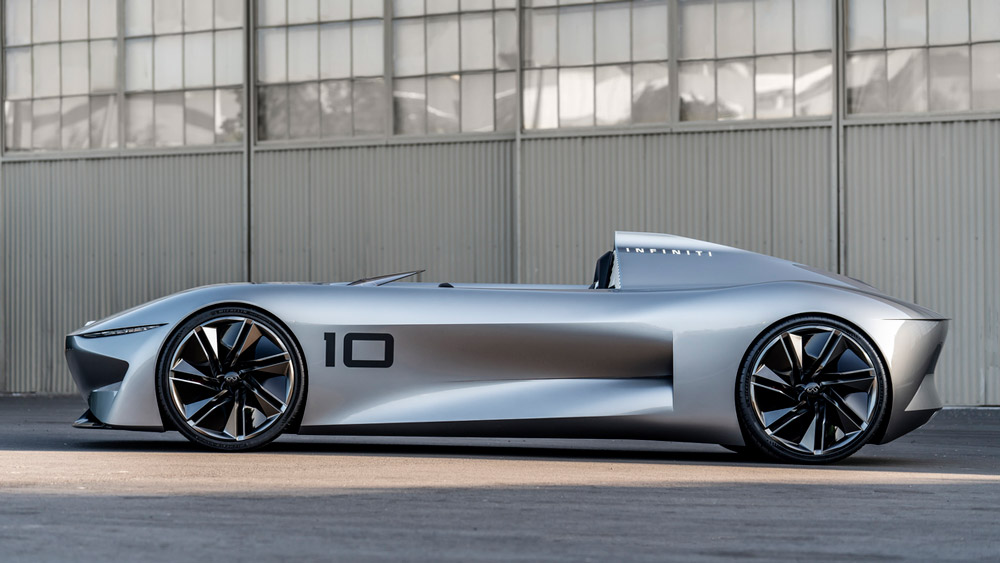 The Infiniti Prototype 10 Concept.