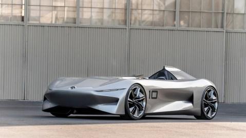 The Infiniti Prototype 10 Concept.
