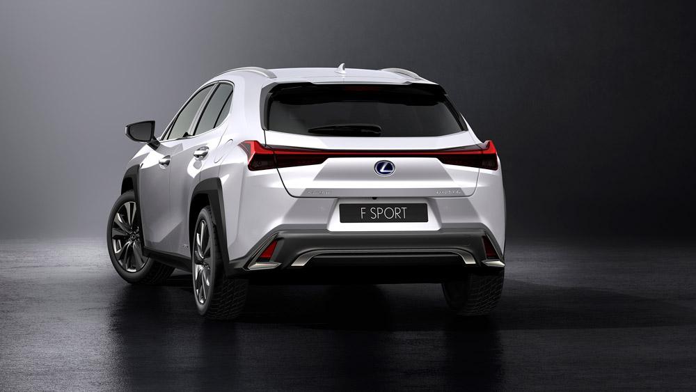 The Lexus UX.