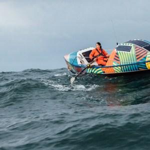 Ditton's vessel was designed by naval architect Jim Antrim.