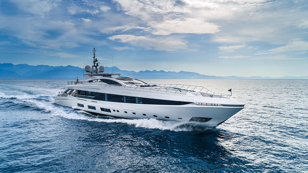 Mangusta El Leon superyacht Monaco Yacht Show