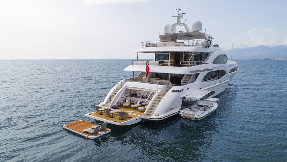 Mangusta Oceano 46 Q95 superyacht Monaco Yacht Show