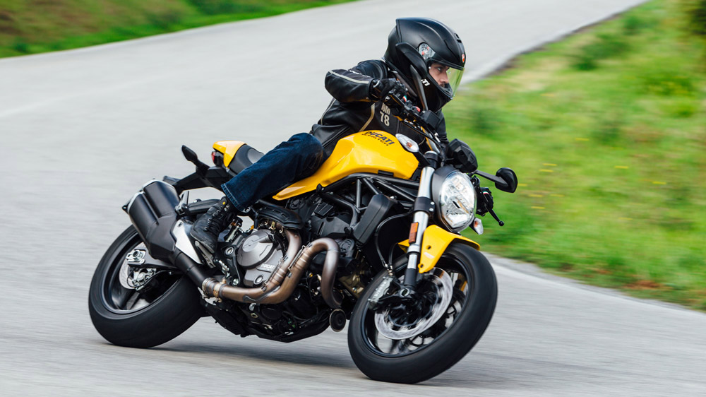 The 2018 Ducati Monster 821.