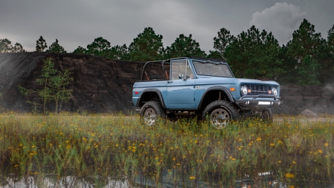 Velocity Restorations 1973 Ford Bronco