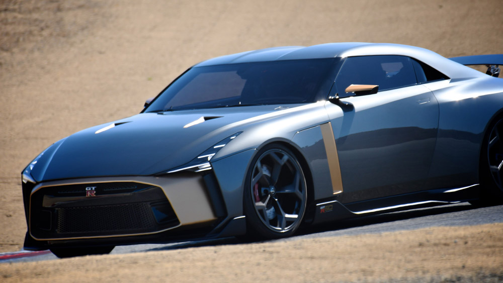 The Nissan GT-R50.