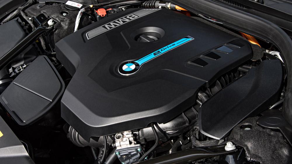 The BMW 740e xDrive iPerformance.