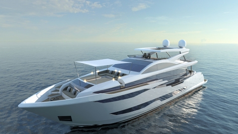 Pearl Yachts Pearl 95 superyacht Cannes