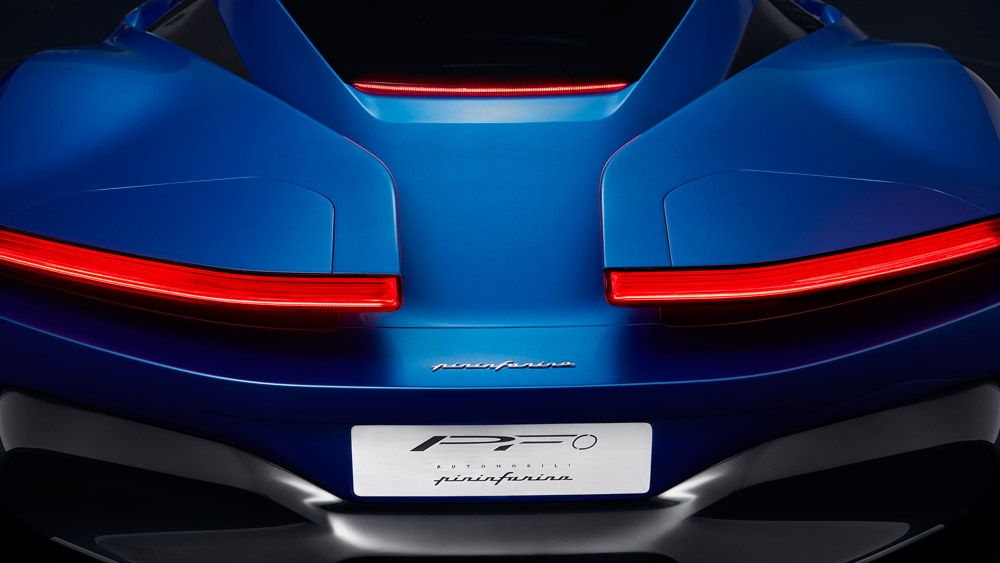 Automobili Pininfarina's PF0 hypercar.