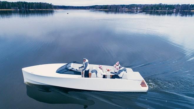 Q-Yachts Q30 electric yacht