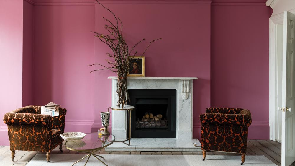 Farrow & Ball pink paint
