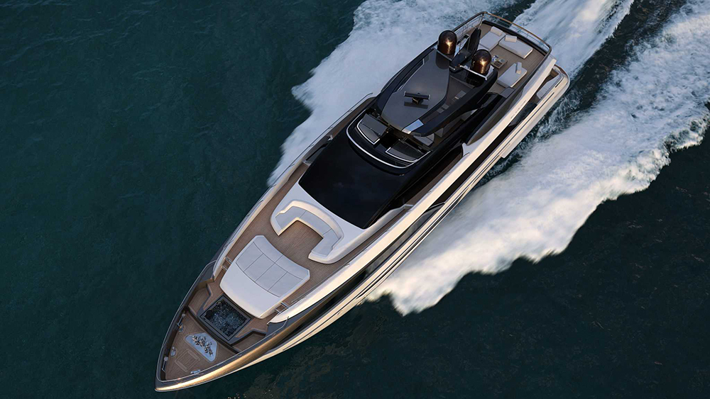 Riva 110 Dolcevita Monaco Yacht Show
