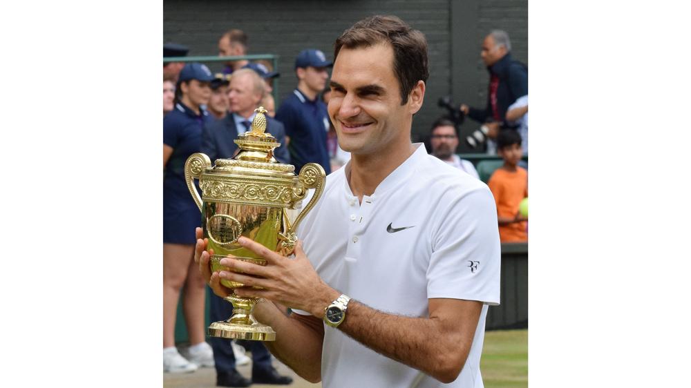 Rolex on Roger Federer