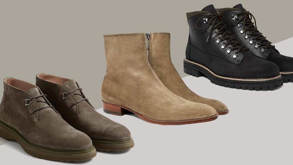 Best Suede Designer Men's Boots for
