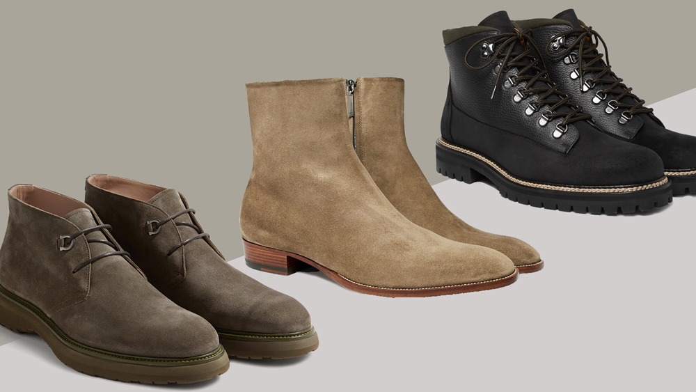 Best Suede Designer Men's Boots for Fall