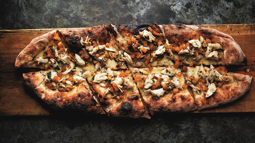 granchio pizza