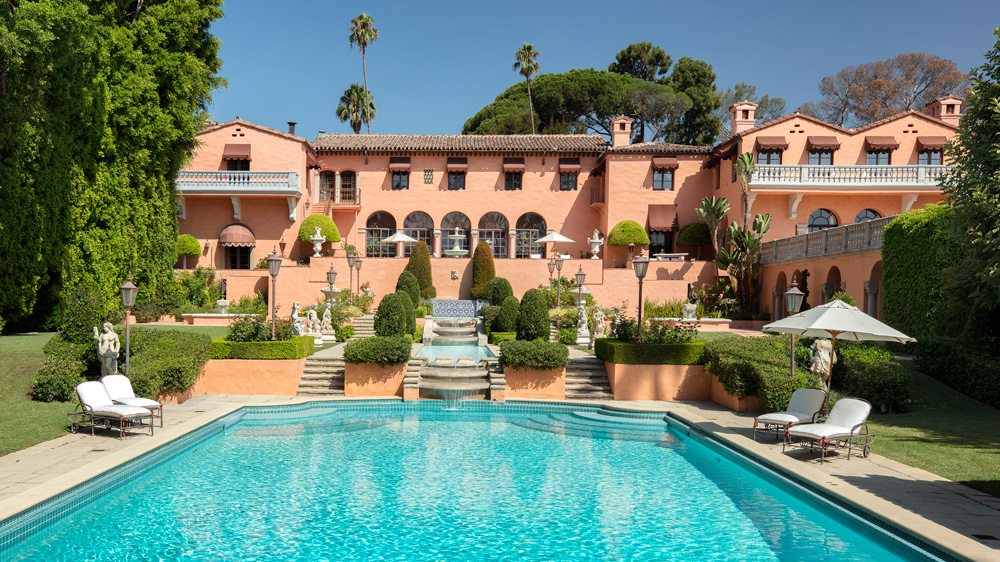 William Randolph Hearst's Former Home in Los Angeles