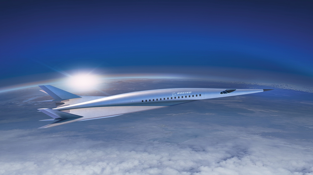 Boeing Hypersonic Airliner