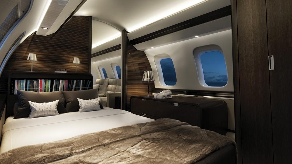 Bombardier Global 7500 bedroom
