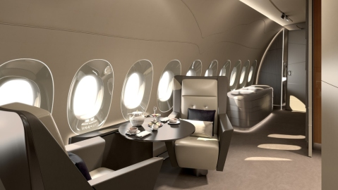 Lufthansa Technik Airbus A350 XWB Concept