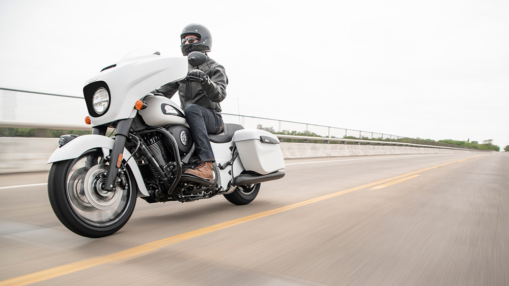 The 2019 Indian Chieftain Dark Horse.
