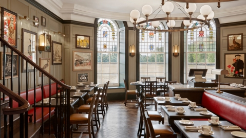 University Arms Hotel Reopens in Cambridge, England