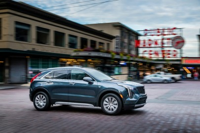 The 2019 Cadillac XT4 in Seattle.